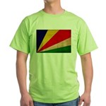 Seychelles Flag Green T-Shirt