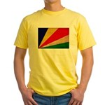 Seychelles Flag Yellow T-Shirt