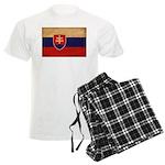 Slovakia Flag Men's Light Pajamas