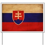 Slovakia Flag Yard Sign