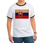 Slovakia Flag Ringer T
