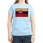 Slovakia Flag Women's Light T-Shirt