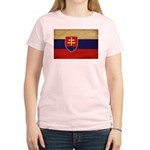 Slovakia Flag Women's Light T-Shirt