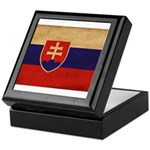 Slovakia Flag Keepsake Box