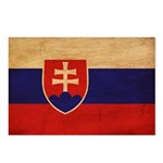 Slovakia Flag Postcards (Package of 8)