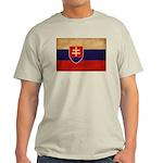 Slovakia Flag Light T-Shirt