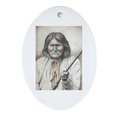 Geronimo Ornament (Oval)