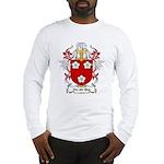 Van der Meer Coat of Arms Long Sleeve T-Shirt