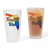 Kendall West, Florida, Gay Pride, Drinking Glass