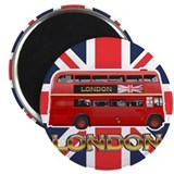 "United kingdom 2.25"" Round Magnet"