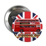 "Red Bus 2.25"" Button"