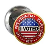 "Presidential Election - I voted 2.25"" Button (100"