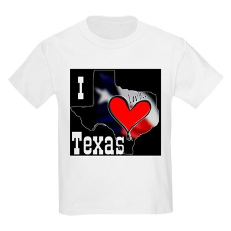 I Love Texas Kids T-Shirt