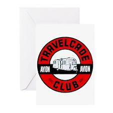 Avion Travelcade Club Roundel Greeting Cards (Pk o