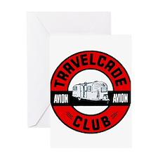 Avion Travelcade Club Roundel Greeting Card