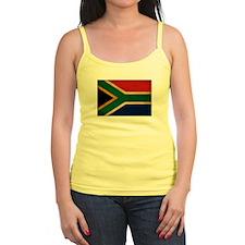 South Africa Flag Jr.Spaghetti Strap