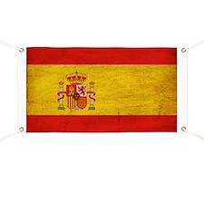 Spain Flag Banner