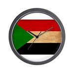 Sudan Flag Wall Clock