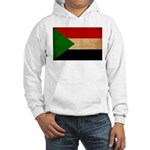 Sudan Flag Hooded Sweatshirt