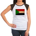 Sudan Flag Women's Cap Sleeve T-Shirt