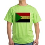 Sudan Flag Green T-Shirt
