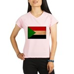 Sudan Flag Performance Dry T-Shirt
