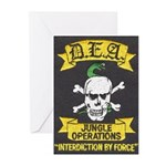 DEA Jungle Ops Greeting Cards (Pk of 10)