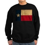 Texas Flag Sweatshirt (dark)
