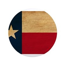 "Texas Flag 3.5"" Button"