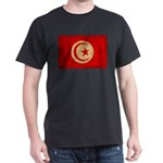 Tunisia Flag Dark T-Shirt