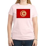Tunisia Flag Women's Light T-Shirt