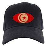 Tunisia Flag Black Cap