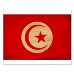 Tunisia Flag Small Poster