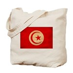 Tunisia Flag Tote Bag