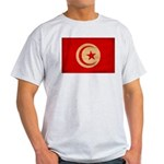 Tunisia Flag Light T-Shirt
