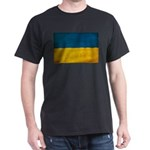Ukraine Flag Dark T-Shirt