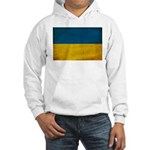 Ukraine Flag Hooded Sweatshirt