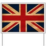 United Kingdom Flag Yard Sign