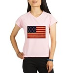 United States Flag Performance Dry T-Shirt