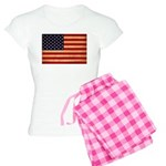 United States Flag Women's Light Pajamas