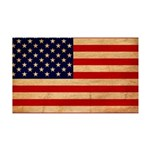 United States Flag 38.5 x 24.5 Wall Peel