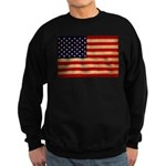 United States Flag Sweatshirt (dark)