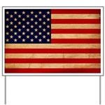 United States Flag Yard Sign