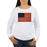 United States Flag Women's Long Sleeve T-Shirt