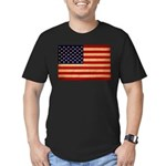 United States Flag Men's Fitted T-Shirt (dark)