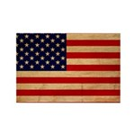 United States Flag Rectangle Magnet (100 pack)