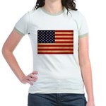 United States Flag Jr. Ringer T-Shirt