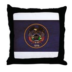 Utah Flag Throw Pillow