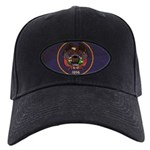 Utah Flag Black Cap