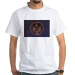 Utah Flag White T-Shirt